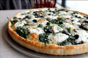 Broccoli Rabe Pan Pie